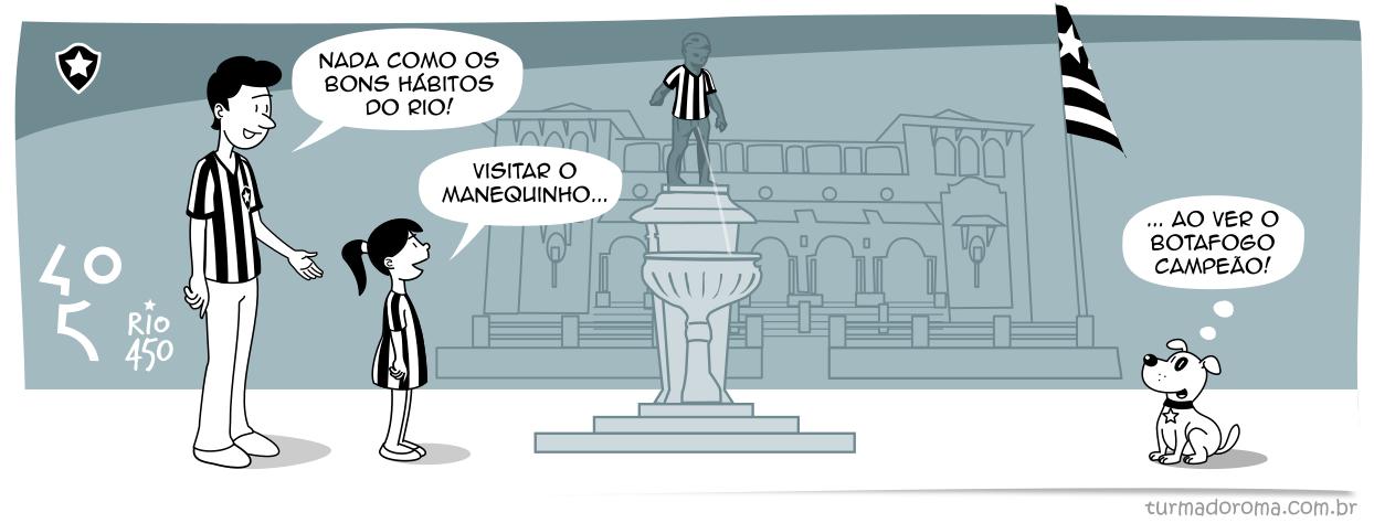 Tirinha 191 Botafogo