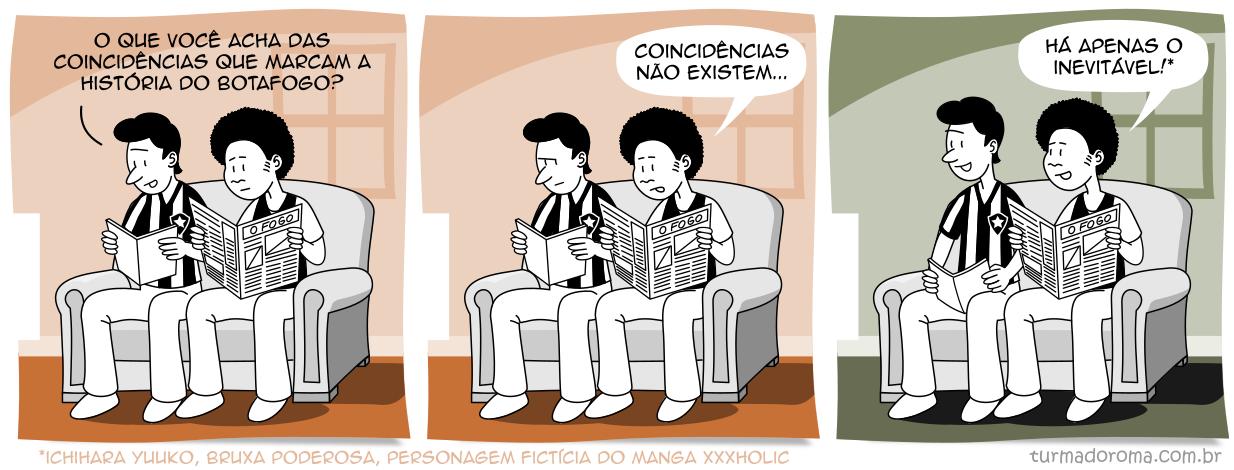 Tirinha 192 Botafogo