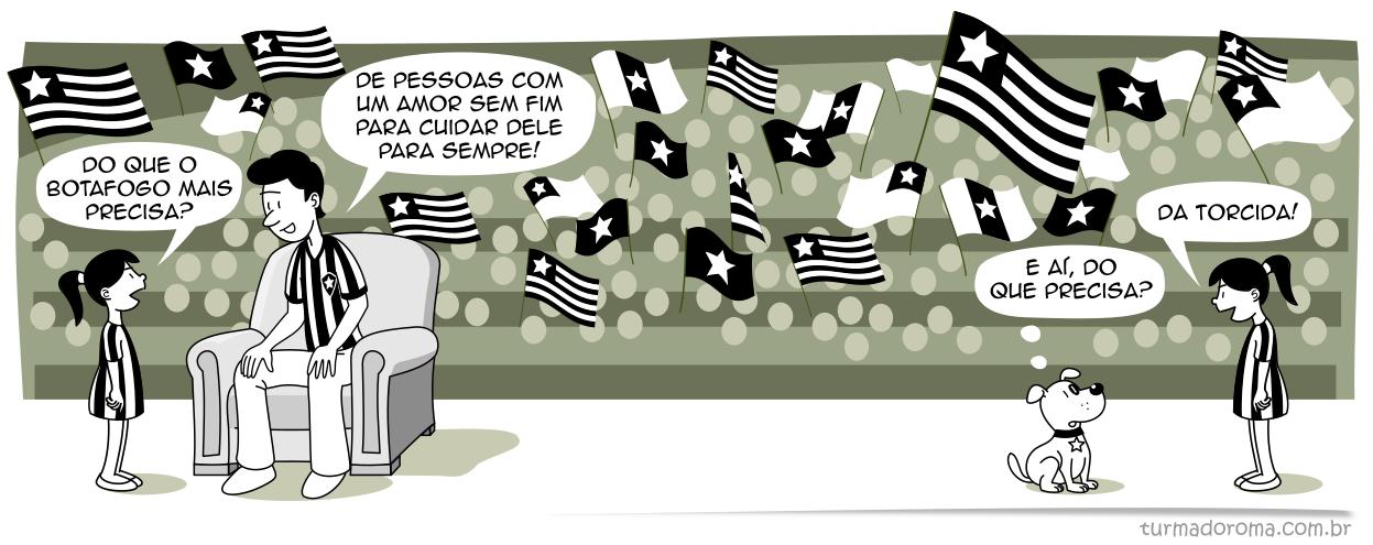 Tirinha 196 Botafogo