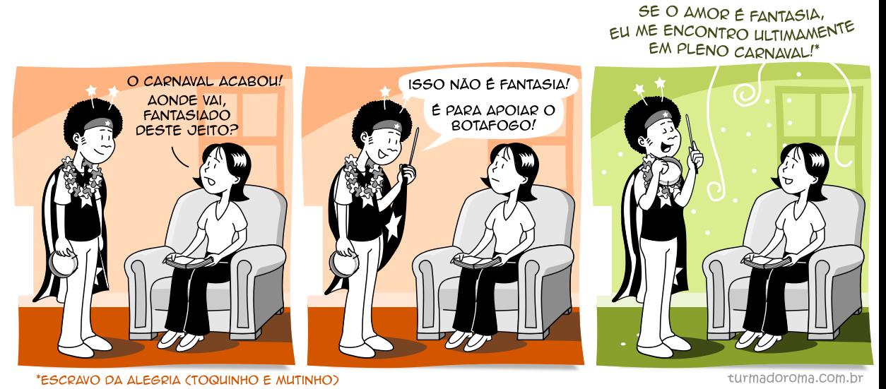 Tirinha 202 Botafogo