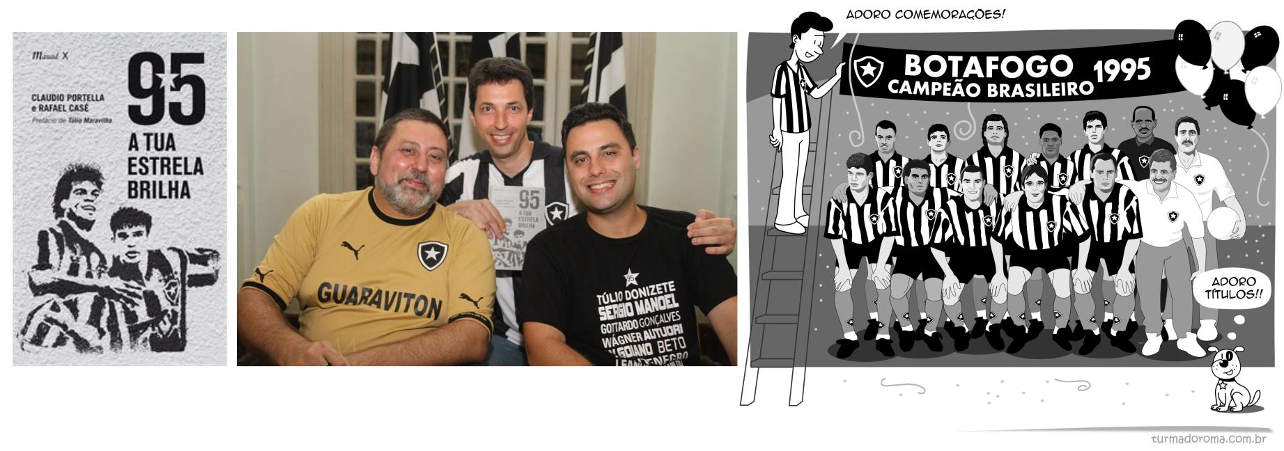Tirinha Livro Botafogo