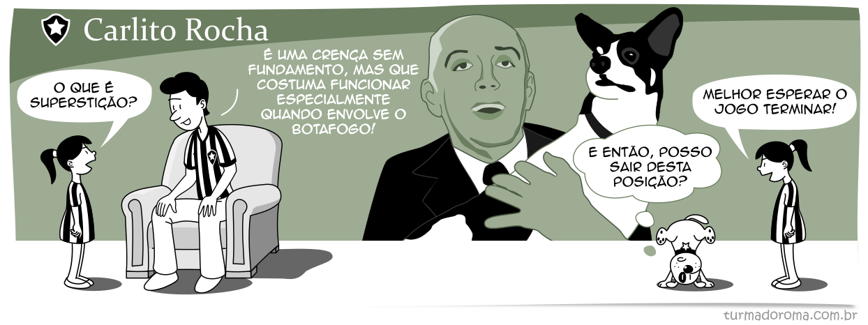 O Botafogo é absurdamente, apaixonadamente e desvairadamente... louco!
