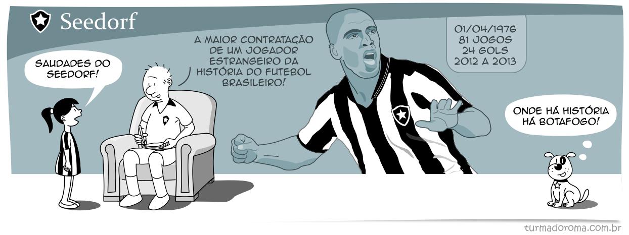 Tirinha 206 Botafogo