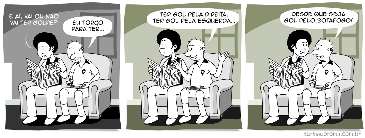 Tirinha 207 Botafogo