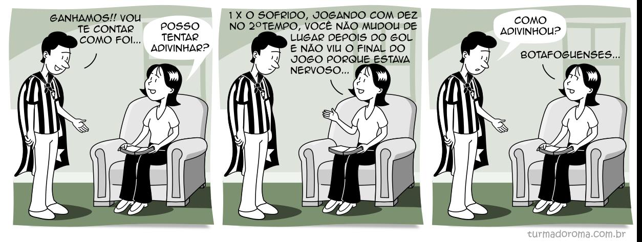 Tirinha 208 Botafogo