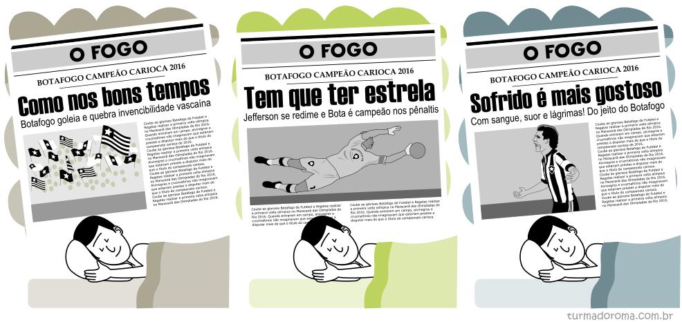 Tirinha 211 Botafogo
