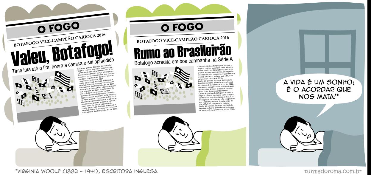 Tirinha 212 Botafogo