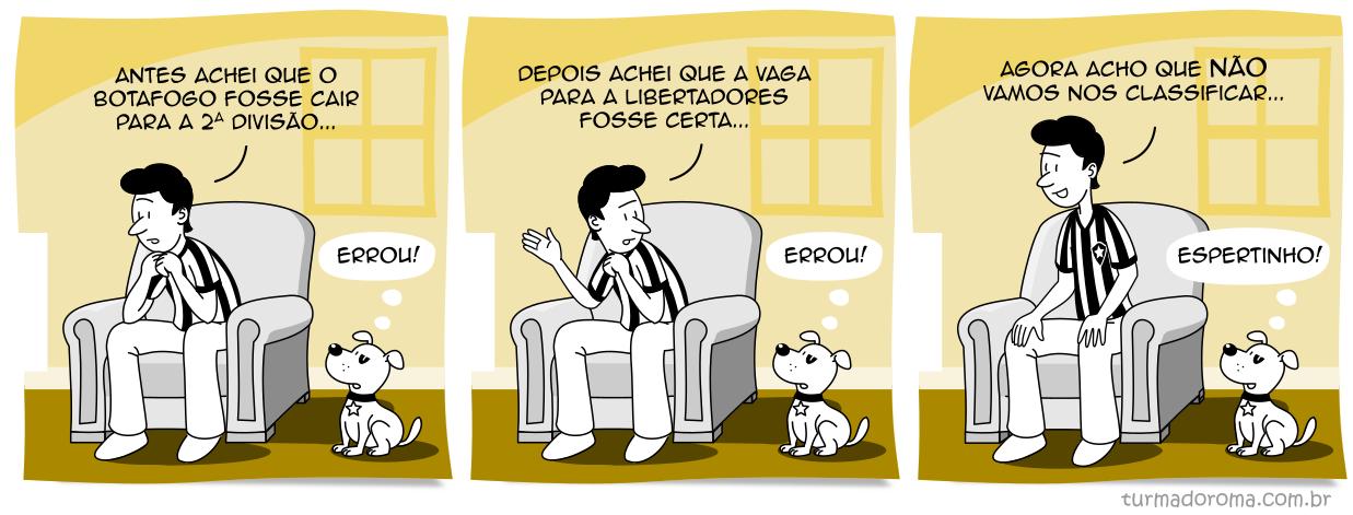 Tirinha 219 Botafogo