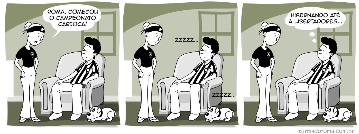 Tirinha Botafogo 10a