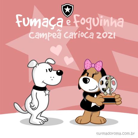Foguinha Campeã 2021